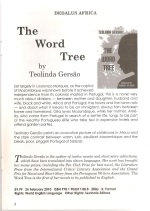 The Word Tree-Catálogo Dedalus