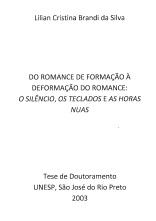 Do Romance de Formação à Deformação do Romance...