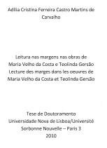Leitura nas Margens nas Obras de...