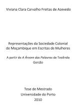 Representações da Sociedade Colonial de Moçambique...