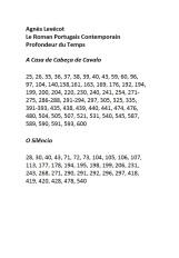 Le Roman Portugais Contemporain